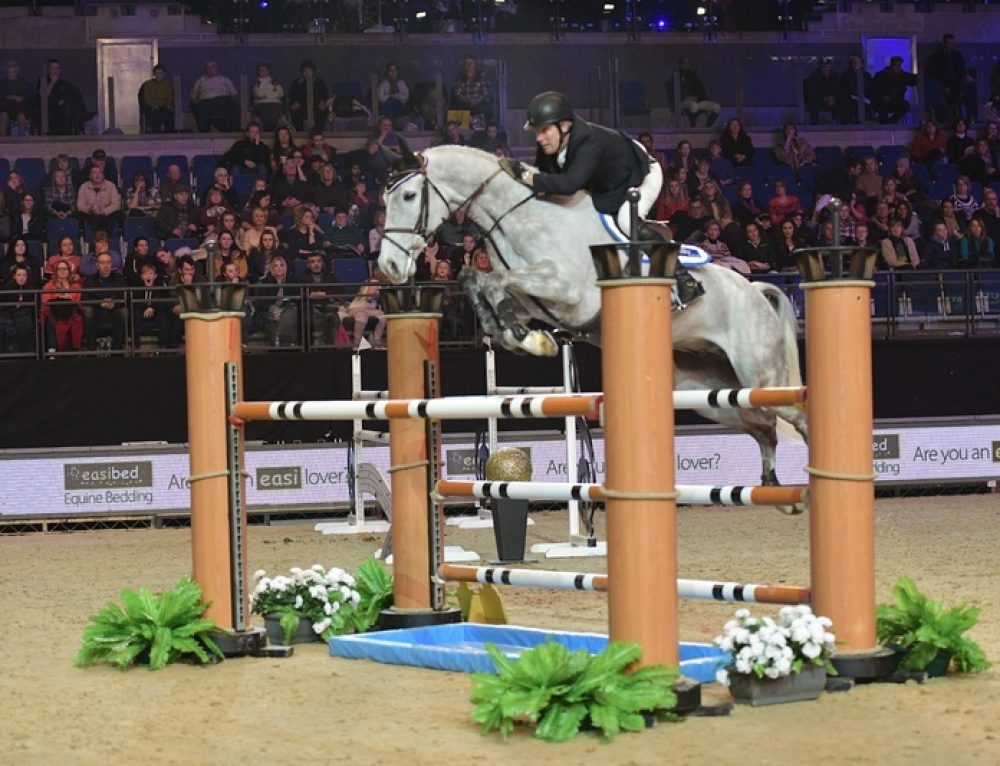 Billy McCain at Liverpool International Horse Show