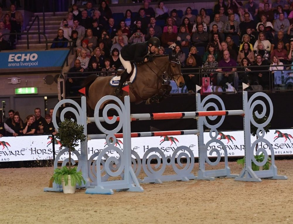 Billy Fanta at Liverpool International Horse Show