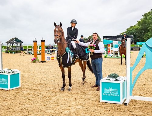 First international win for Ella Derbyshire & Billy Galleon!