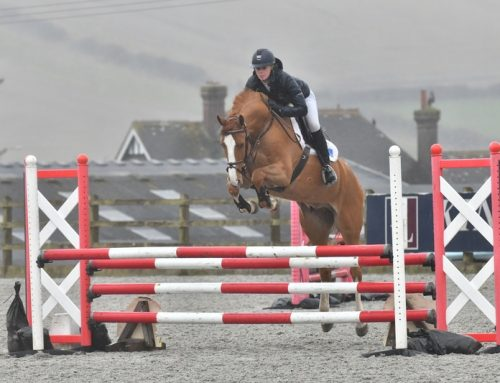 Young Billy's on flying form at Pyecombe!
