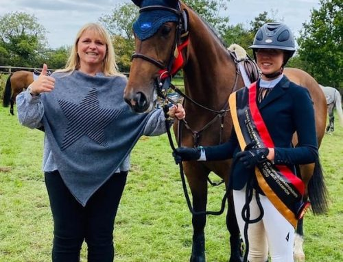 Billy Mufasa – Hickstead 4 Year Old Champion!