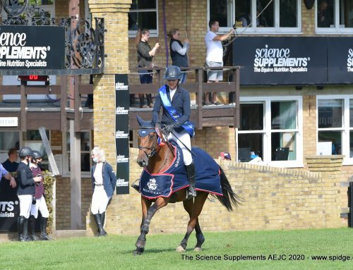 Billy Vitani – Hickstead Novice Champion!
