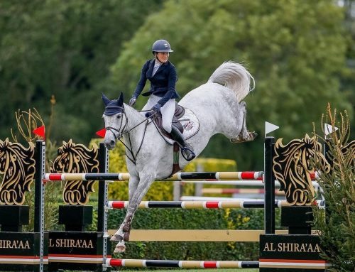Billy Franklin awarded Best Mare at Hickstead!